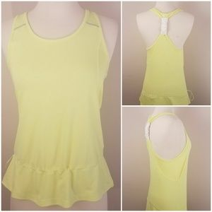 Lucy | Yellow Exercise Tank Top [Tanks]